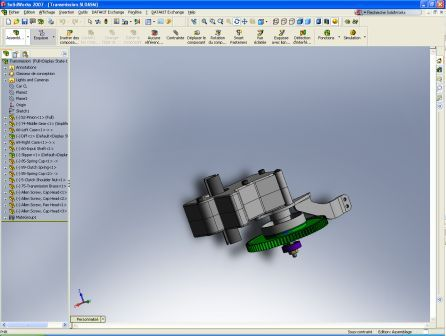 SolidWorks Import by Datakit   OPEN CASCADE