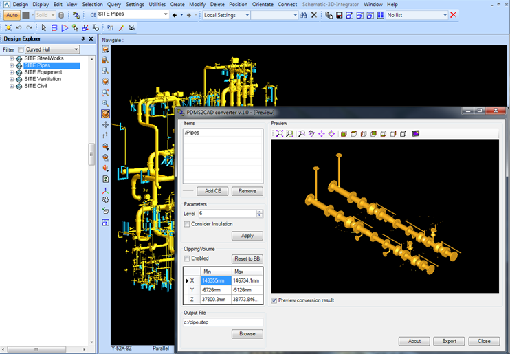 piping plant design software are rather independent from the classical 3d cad still require specific actions - Autoplant 3d