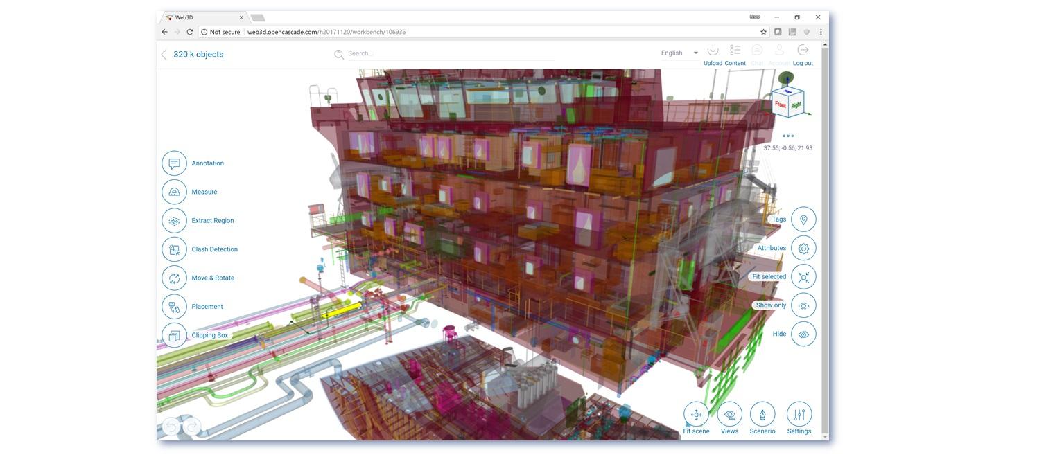 Advanced 3D in a Web Browser | OPEN CASCADE