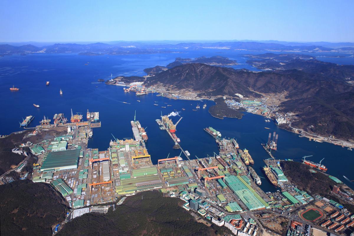 Samsung Heavy Industry Shipyard